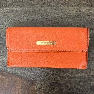 Michael Kors Orange Wallet